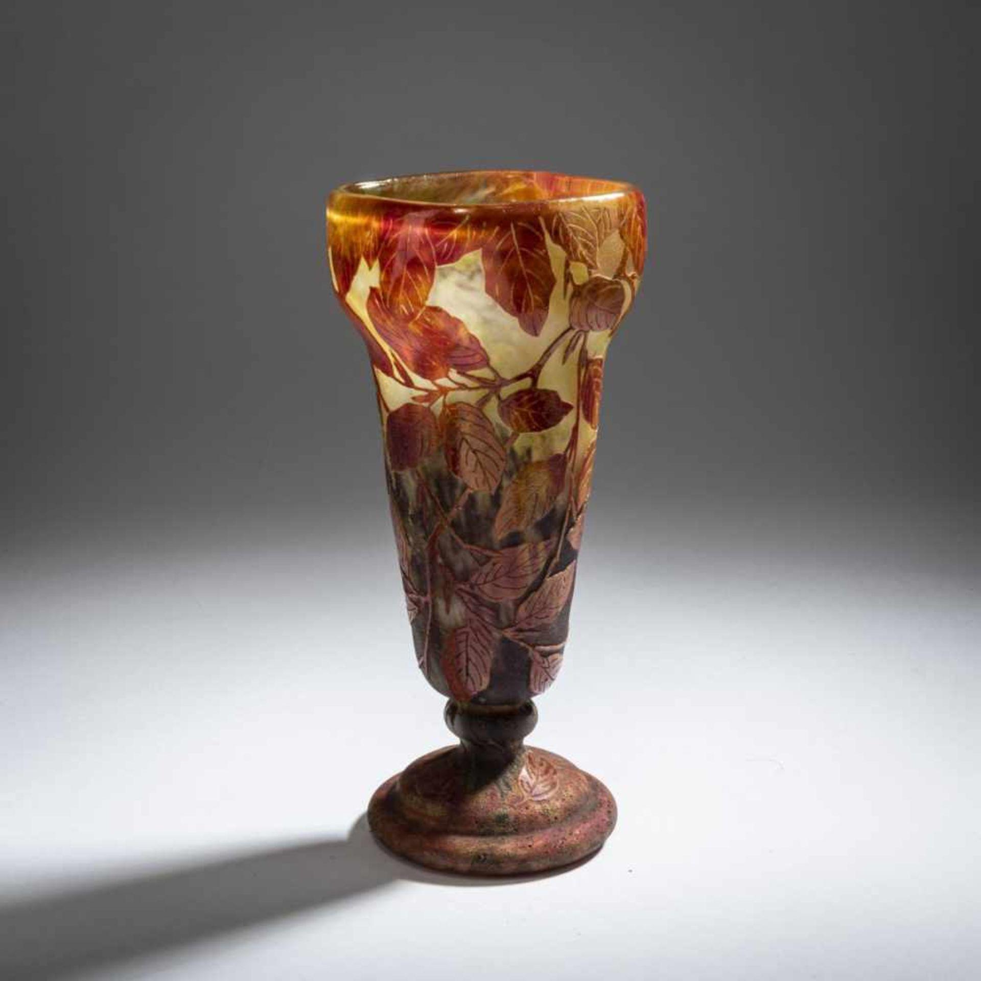 Daum Frères, Nancy , Vase 'Hêtre roux', 1910 - Bild 5 aus 7