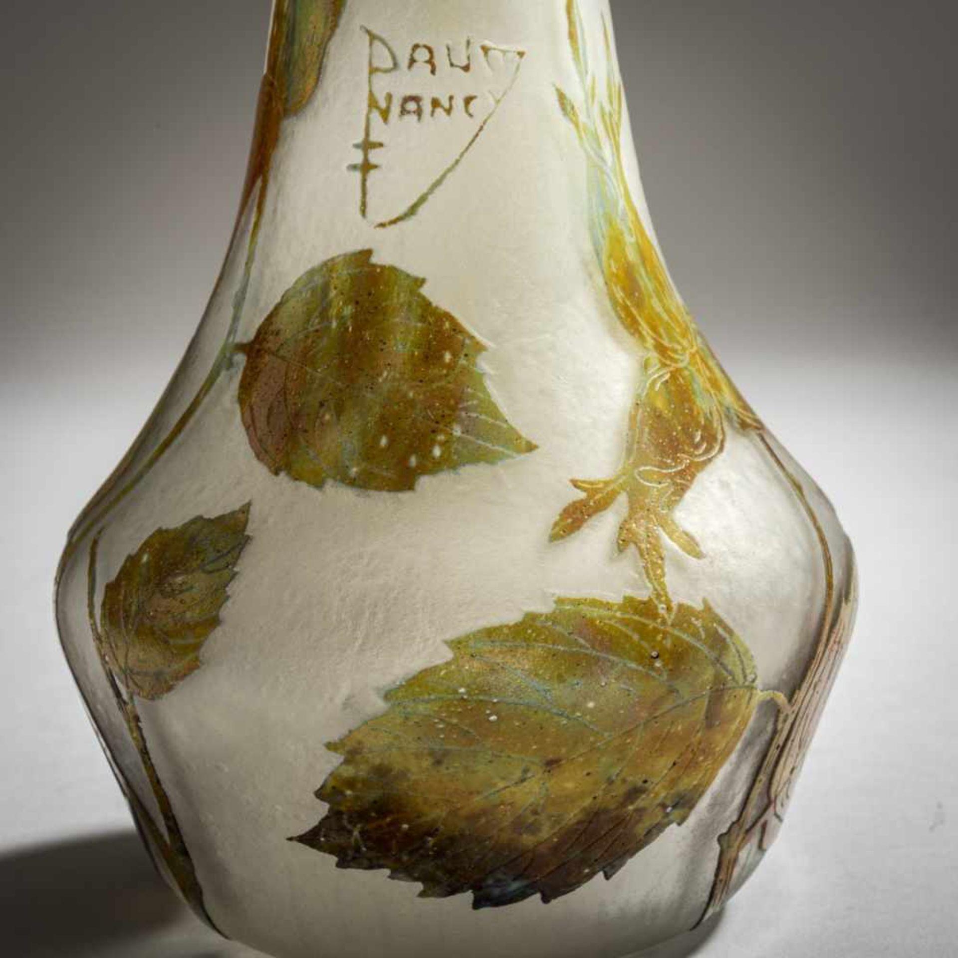 Los 152 - Daum Frères, Nancy, Berluze 'Noisette', um 1910Berluze 'Noisette', um 1910H. 41,2 cm....