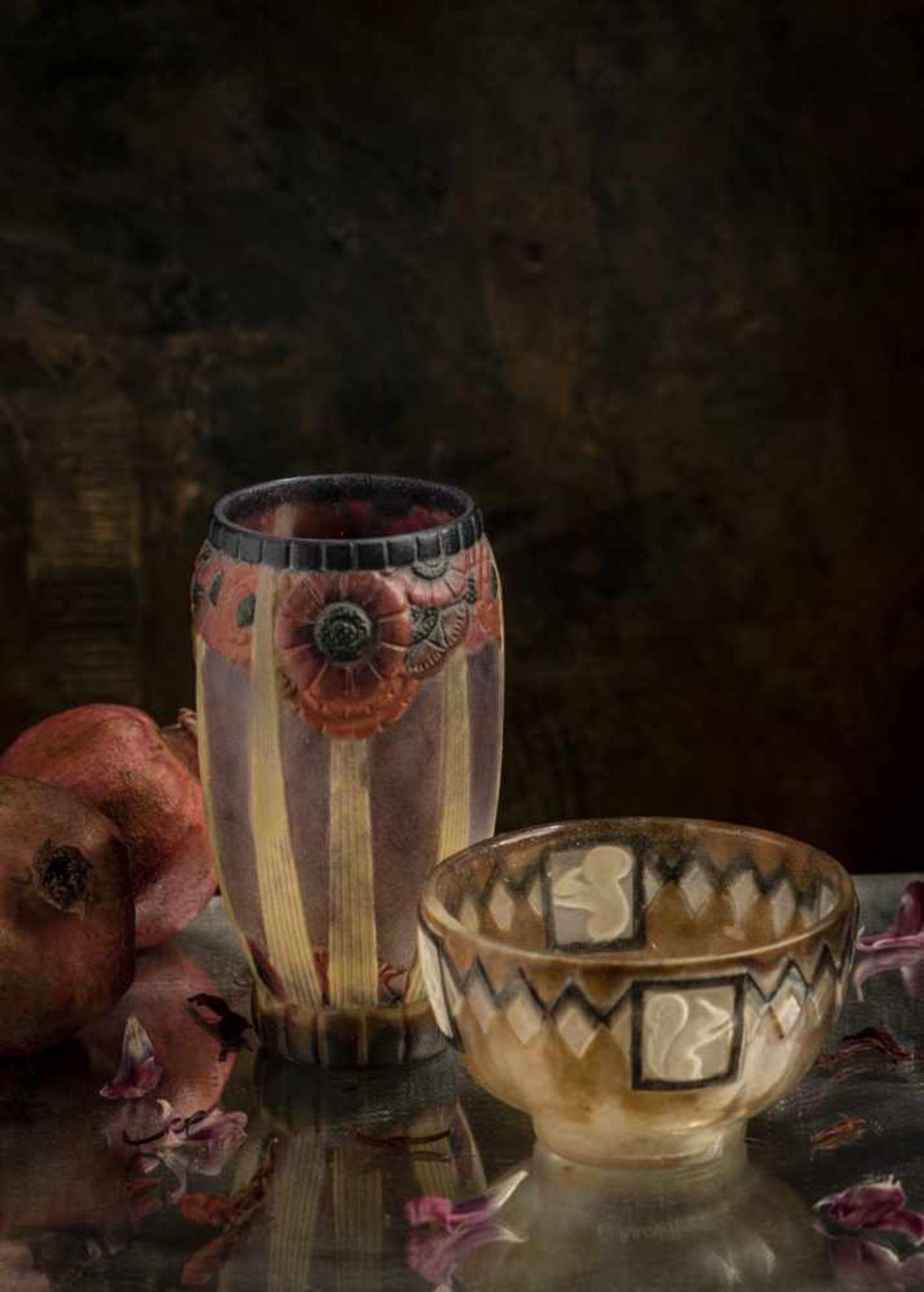 Gabriel Argy-Rousseau, Paris, Vase 'Ecureuil', 1932 - Bild 7 aus 8