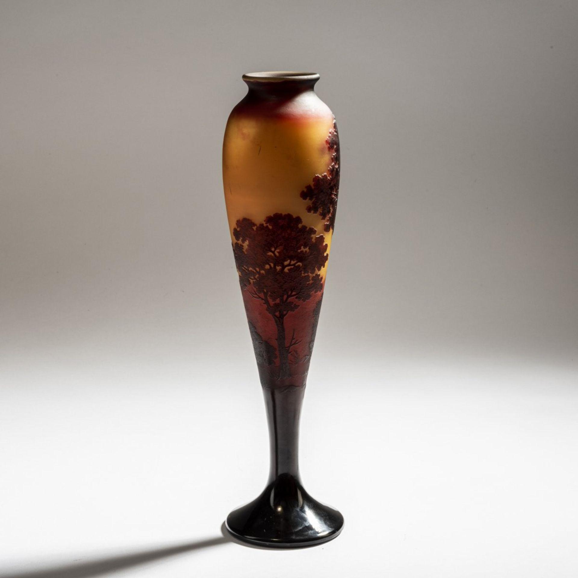 Paul Nicolas, Nancy, 'Paysage' vase, 1919-25 - Bild 2 aus 3