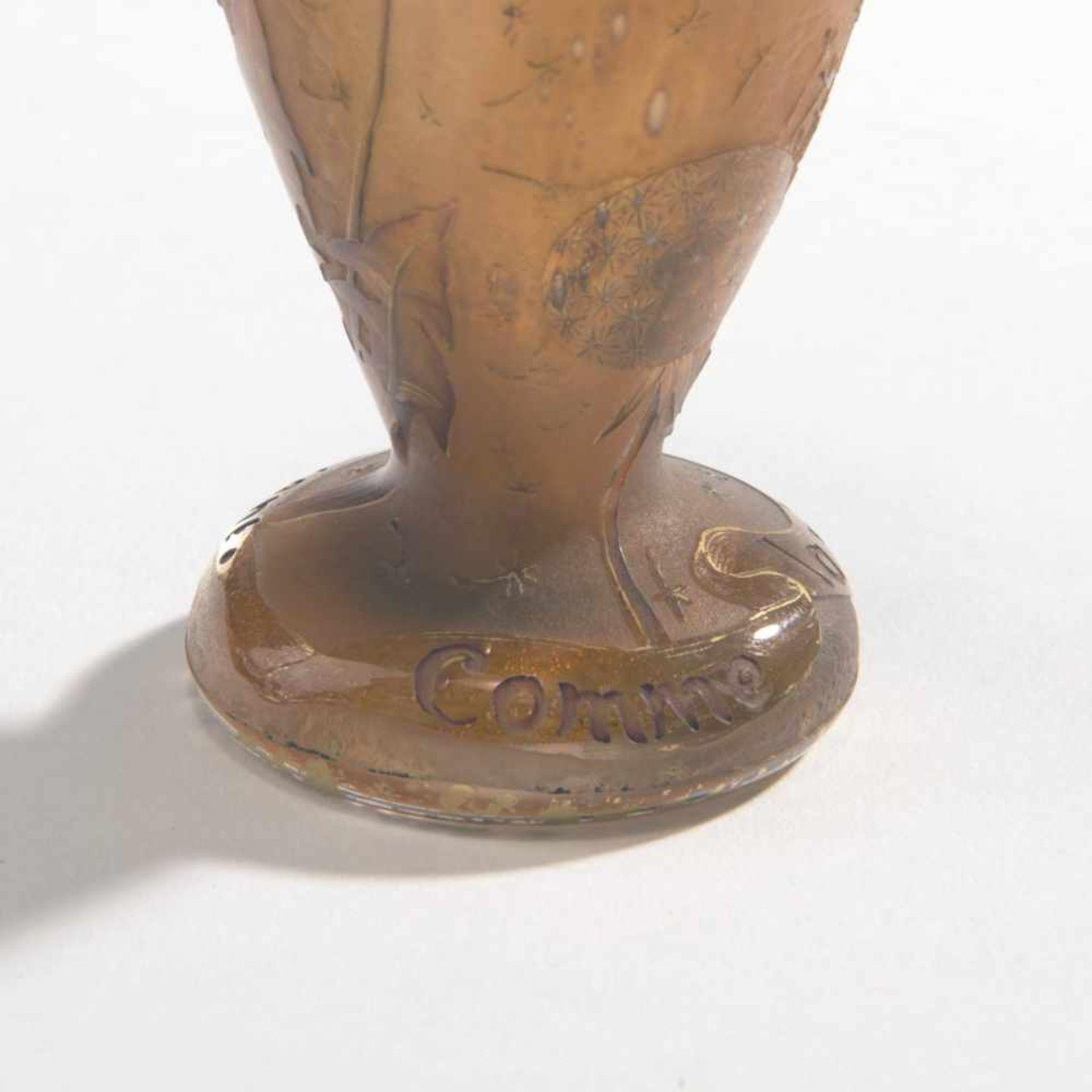 Daum Frères, Nancy , Vase 'Pissenlit comme la plume au vent', c. 1900 - Bild 4 aus 6
