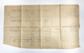 Bauhaus Dessau, Architectural plan 'Dessau Törten', 1930
