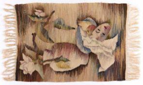 Henni Jaensch Zeymer, Tapestry, 1940s