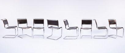 Marcel Breuer, Eight chairs 'B 33', 1927/28