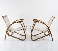 Jiri Vanek, Set of two armchairs, c. 1949