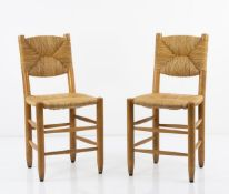 Charlotte Perriand, Set of two chairs, 1939