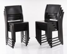 Sven Markelius, Set of eight stacking chairs 'Orkesterstolen', 1932
