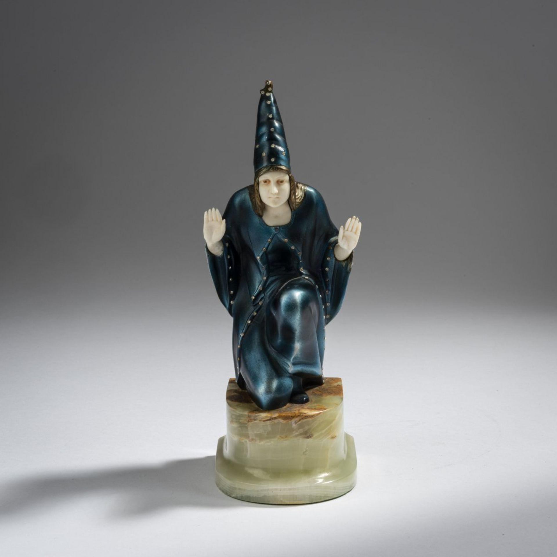 Franz Peleschka-Lunard, Zauberin, 1920er Jahre - Bild 2 aus 7