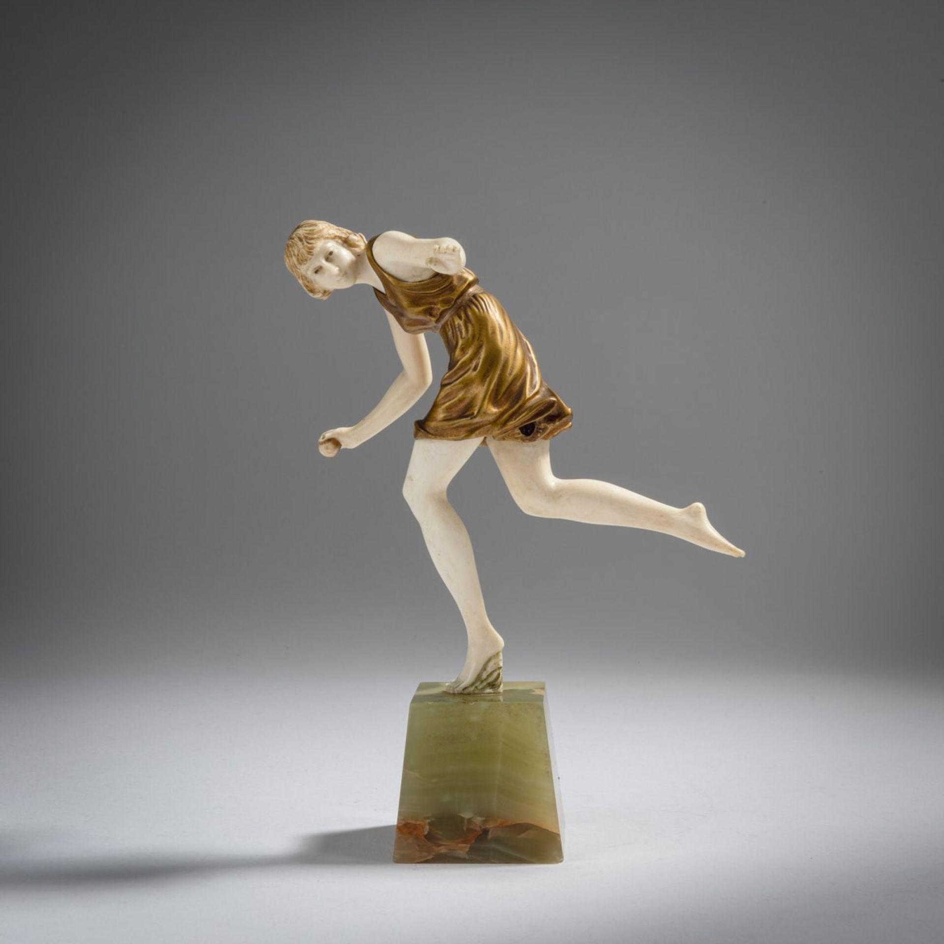 Pierre Le Faguays, Ballspielerin, 1920er Jahre - Bild 2 aus 6