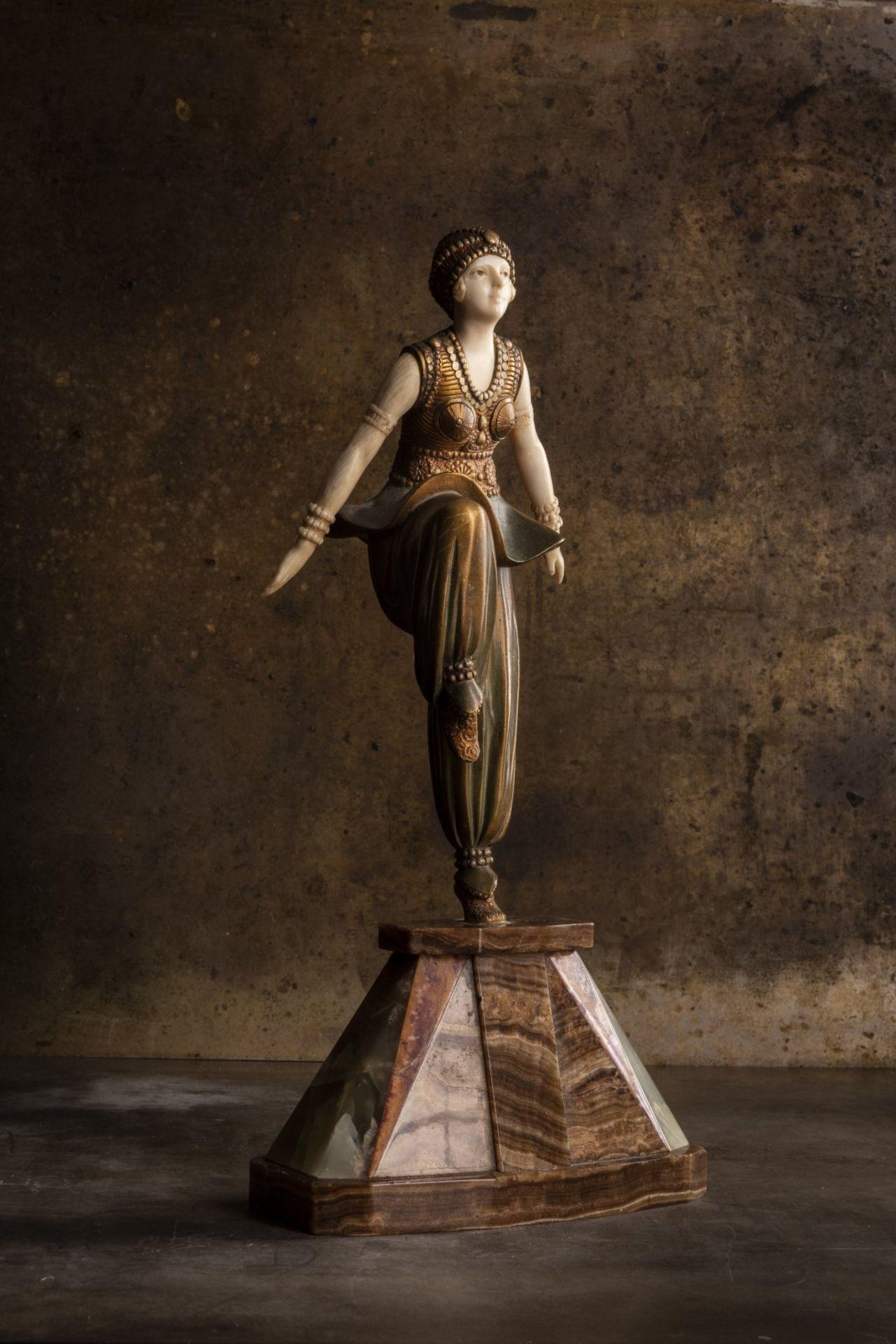 Demètre H. Chiparus, 'Orientalische Tänzerin', um 1925 - Bild 9 aus 9