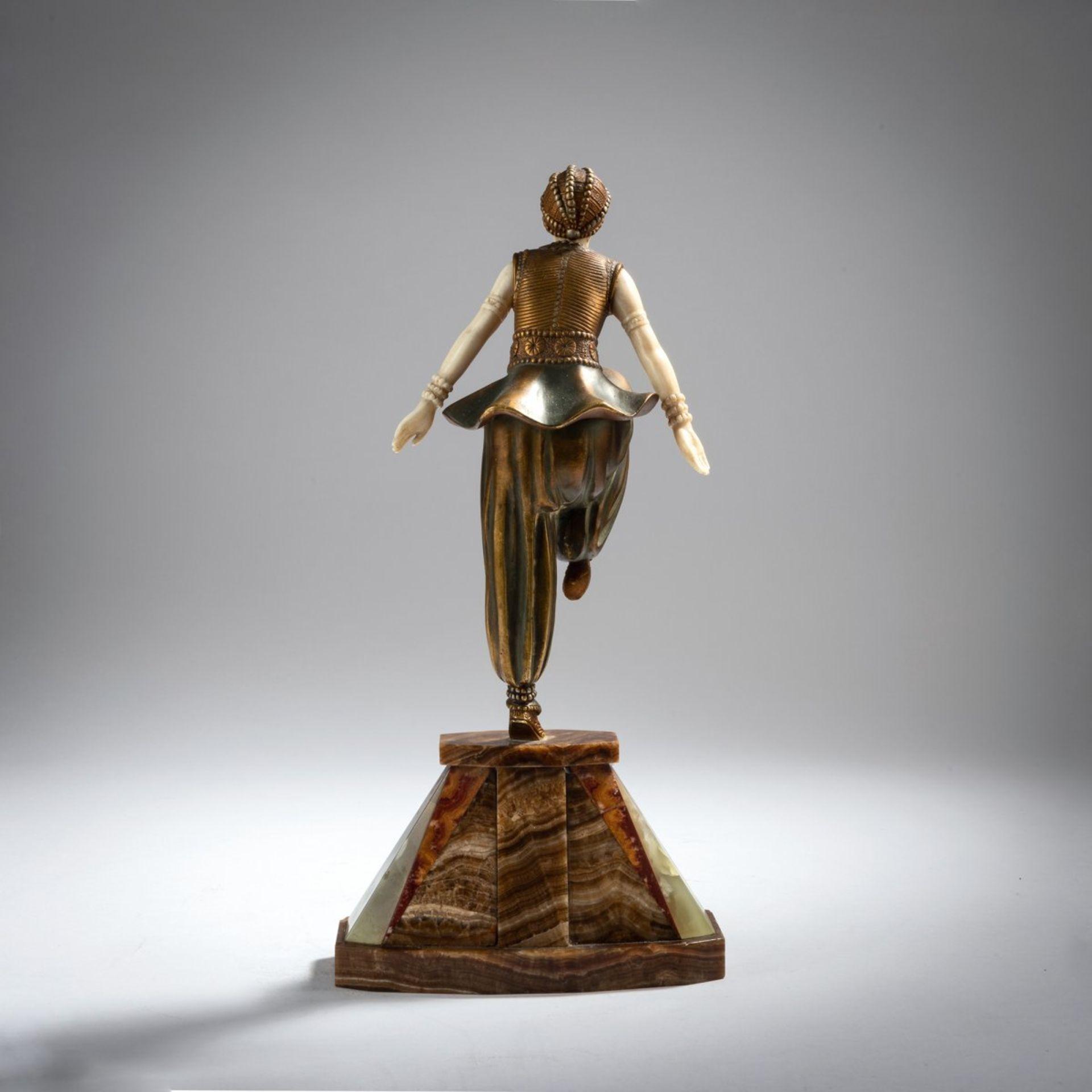 Demètre H. Chiparus, 'Orientalische Tänzerin', um 1925 - Bild 4 aus 9