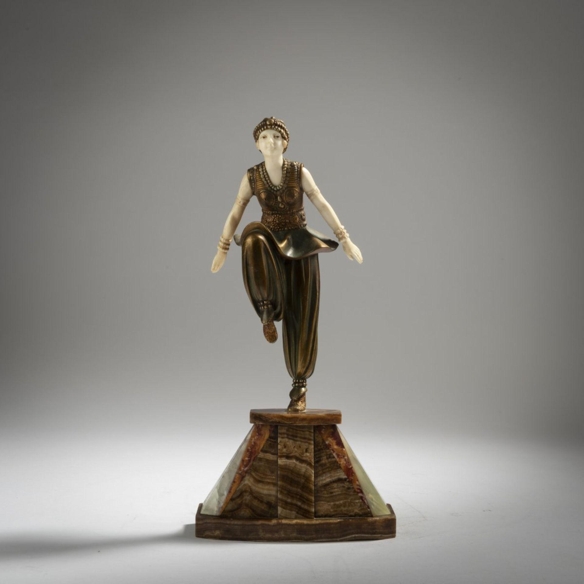 Demètre H. Chiparus, 'Orientalische Tänzerin', um 1925 - Bild 2 aus 9