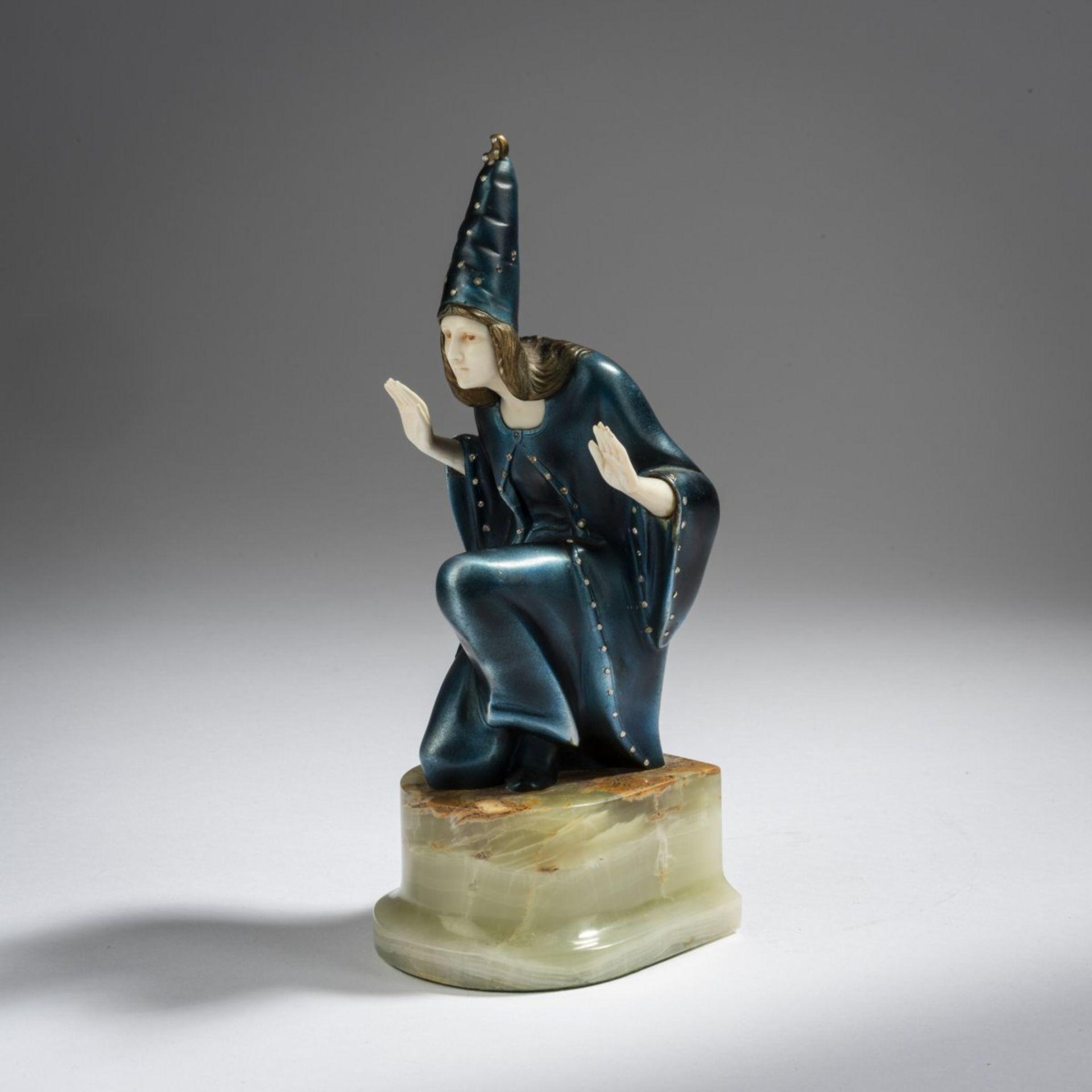 Franz Peleschka-Lunard, Zauberin, 1920er Jahre - Bild 3 aus 7