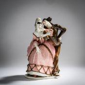 Josef Wackerle, 'Pierrot und Pierrette', 1906