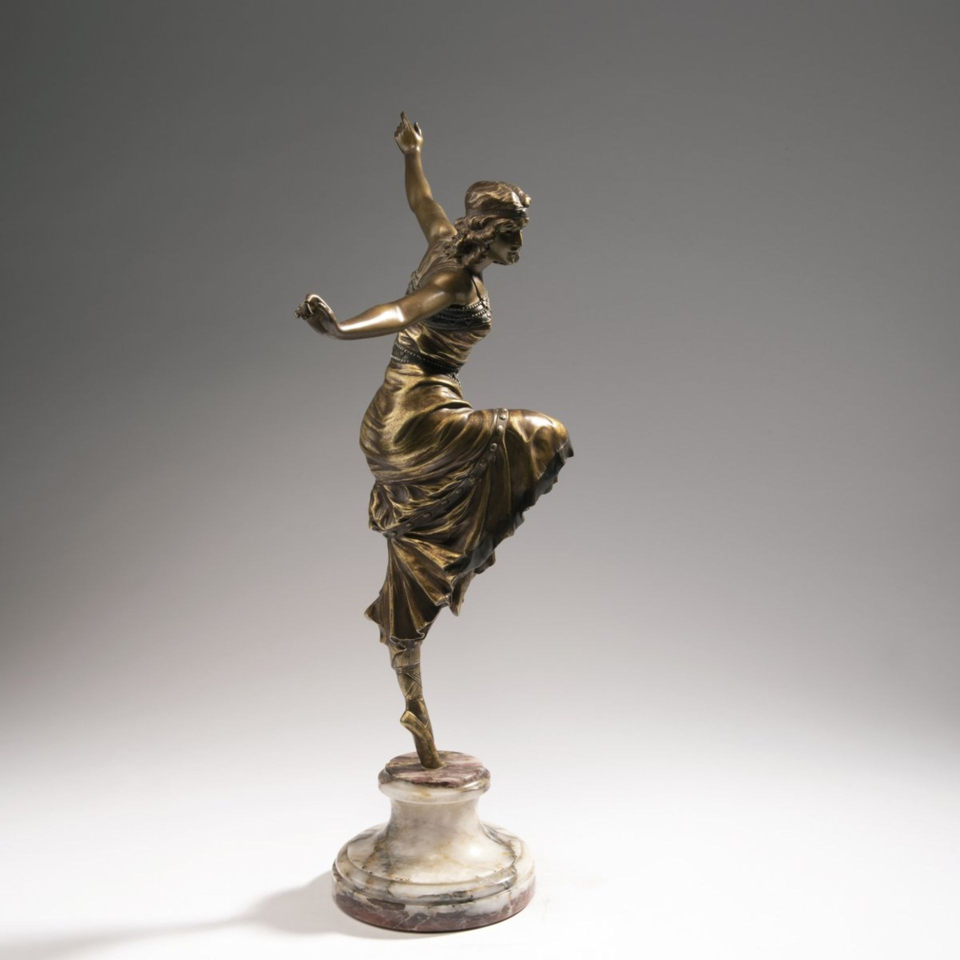 Paul Philippe, 'Große Russische Tänzerin', 1920er Jahre - Bild 5 aus 8