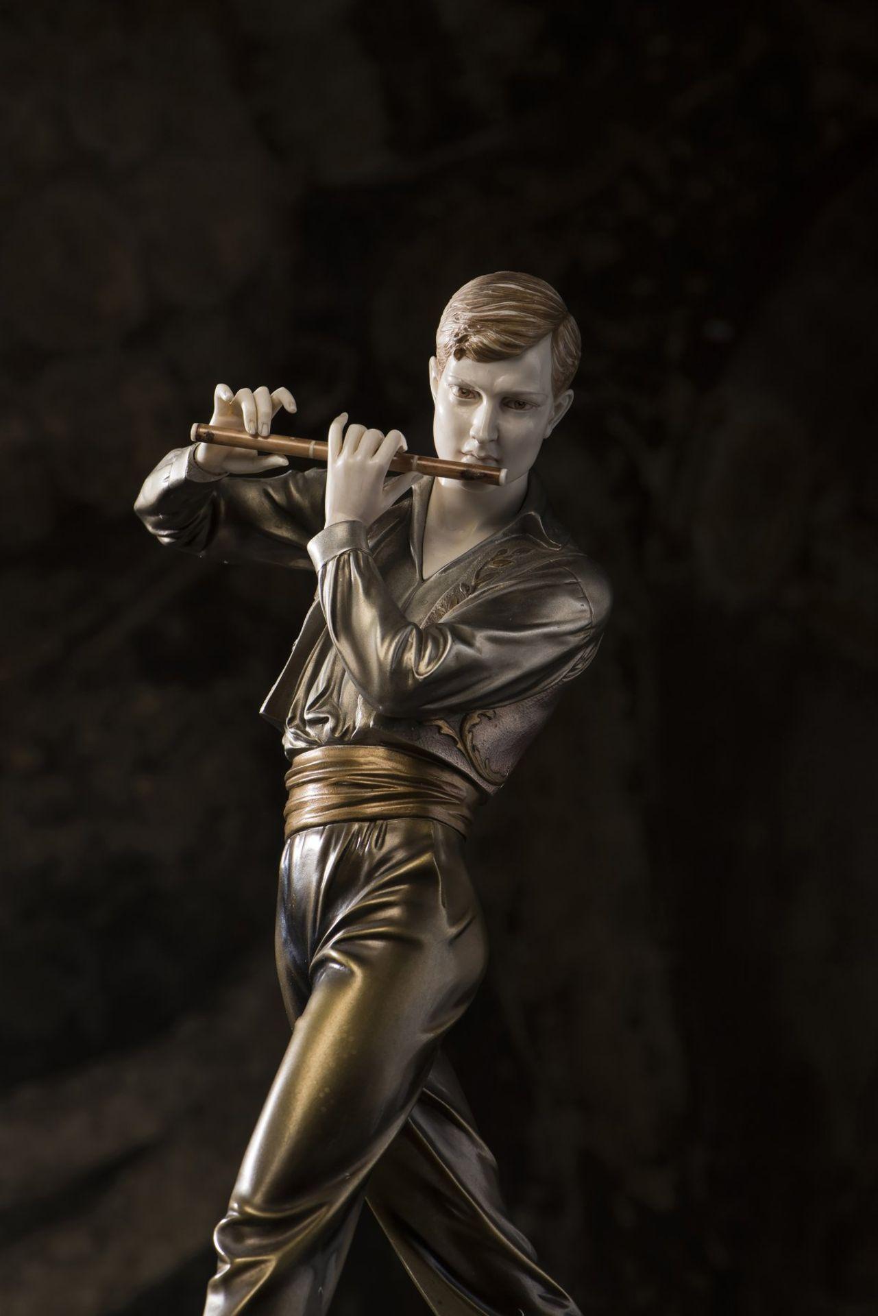 Ferdinand Preiss, 'Flötenspieler', um 1930 - Bild 3 aus 15