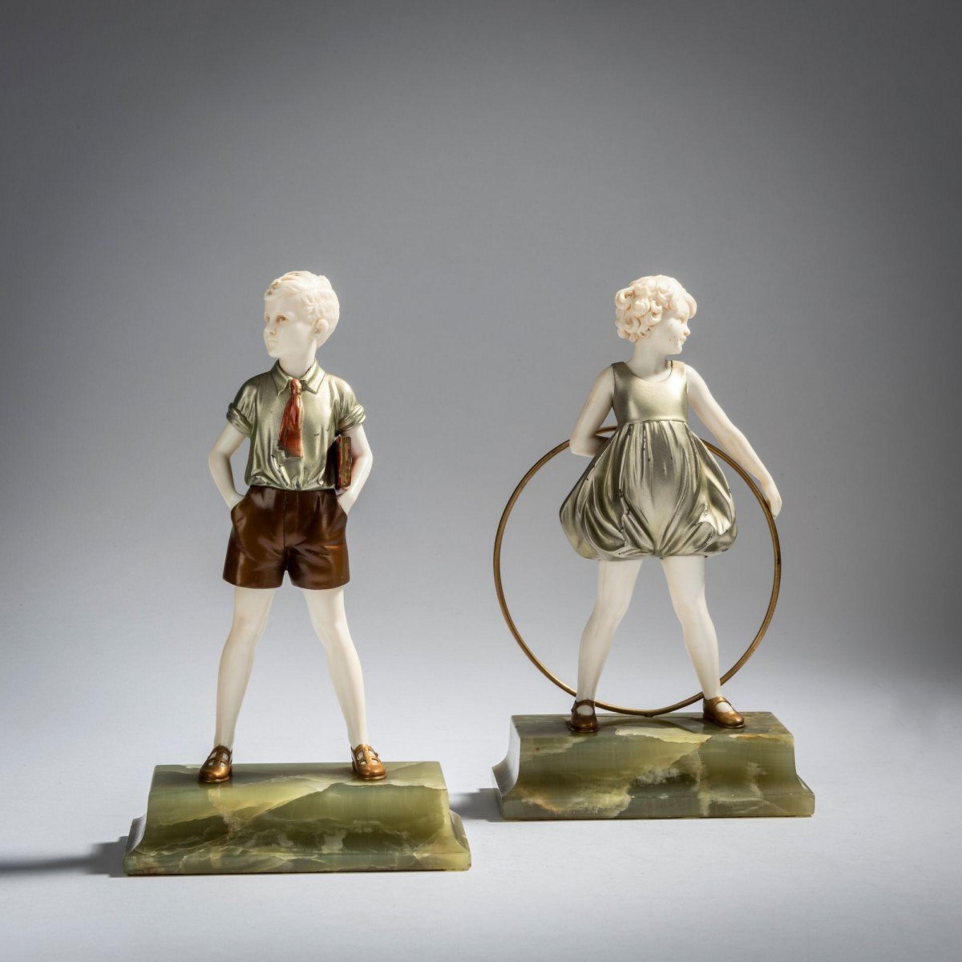 Ferdinand Preiss, 'Hoop Girl' und 'Sonny Boy', um 1930