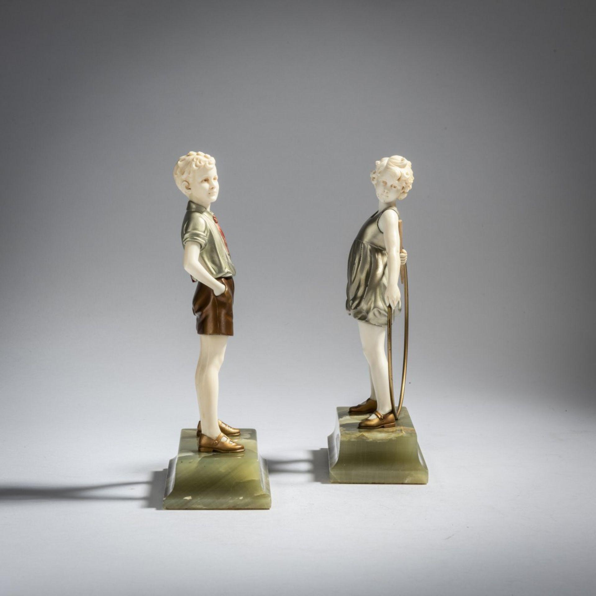 Ferdinand Preiss, 'Hoop Girl' und 'Sonny Boy', um 1930 - Bild 2 aus 5