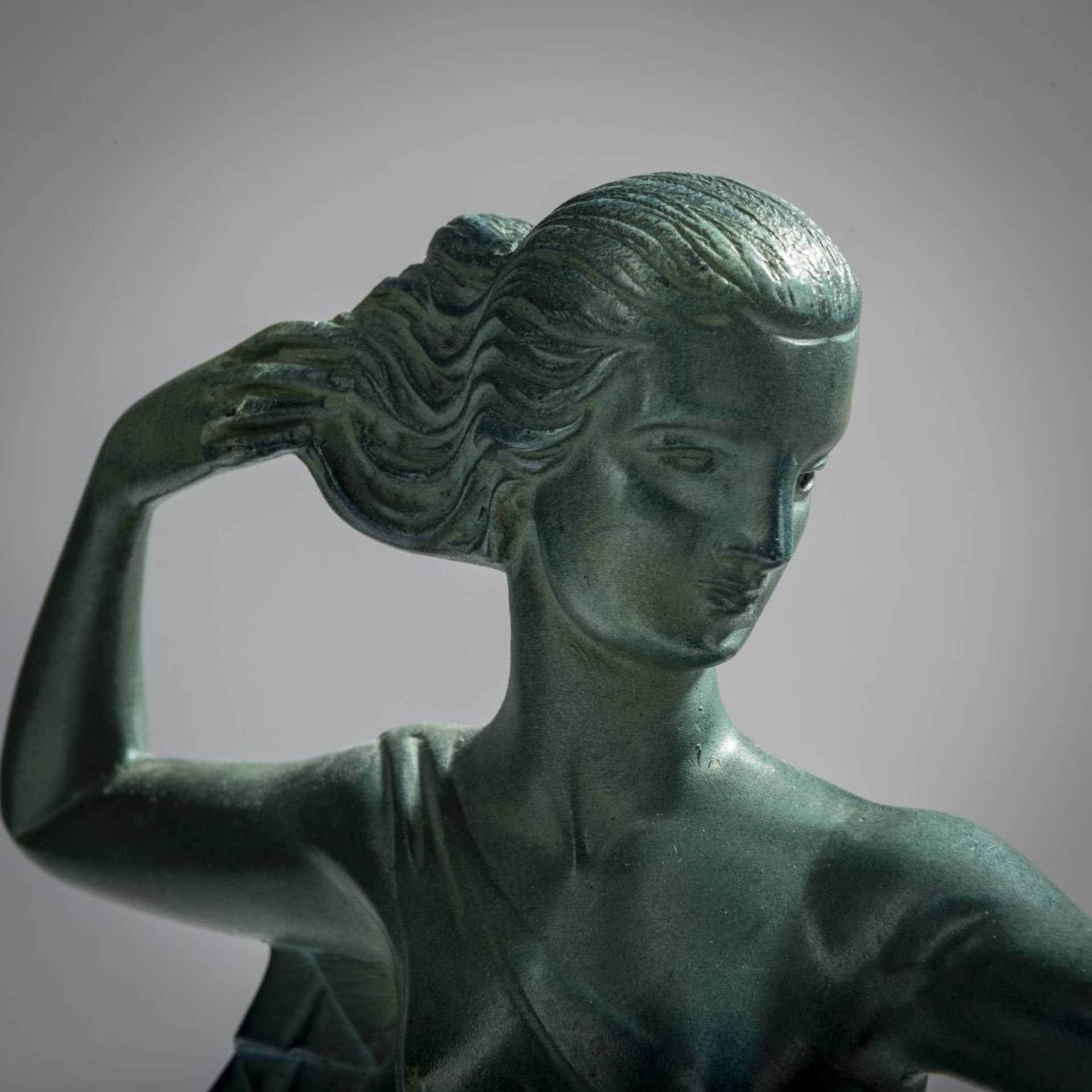 Jaime Sabartes Gual , 'Diana, kniend', um 1928 - Bild 6 aus 6