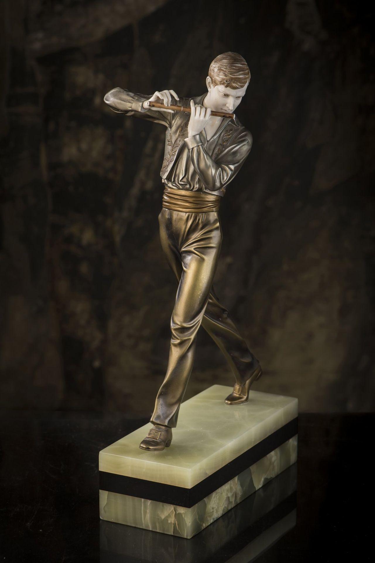 Ferdinand Preiss, 'Flötenspieler', um 1930 - Bild 15 aus 15