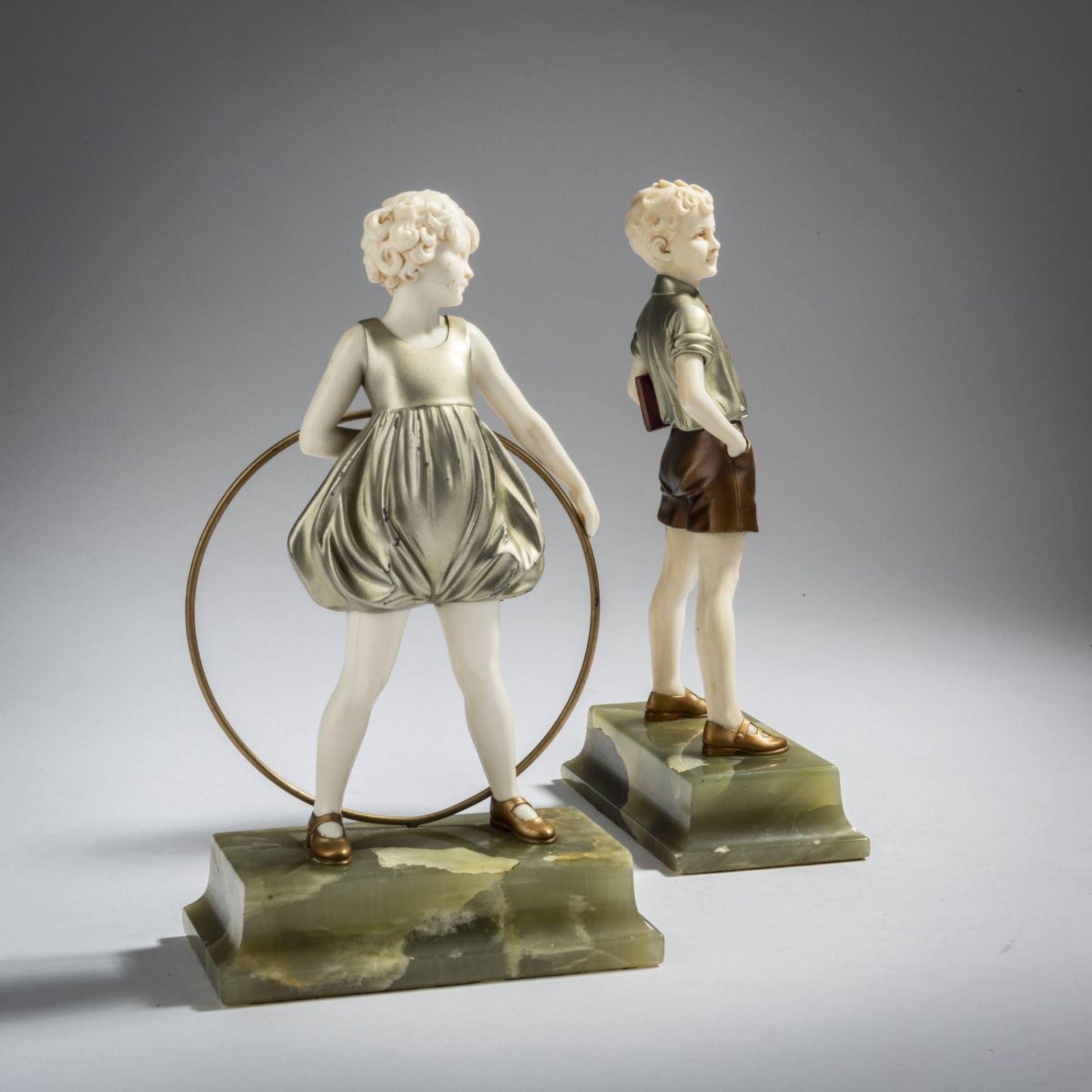Ferdinand Preiss, 'Hoop Girl' und 'Sonny Boy', um 1930 - Bild 4 aus 5