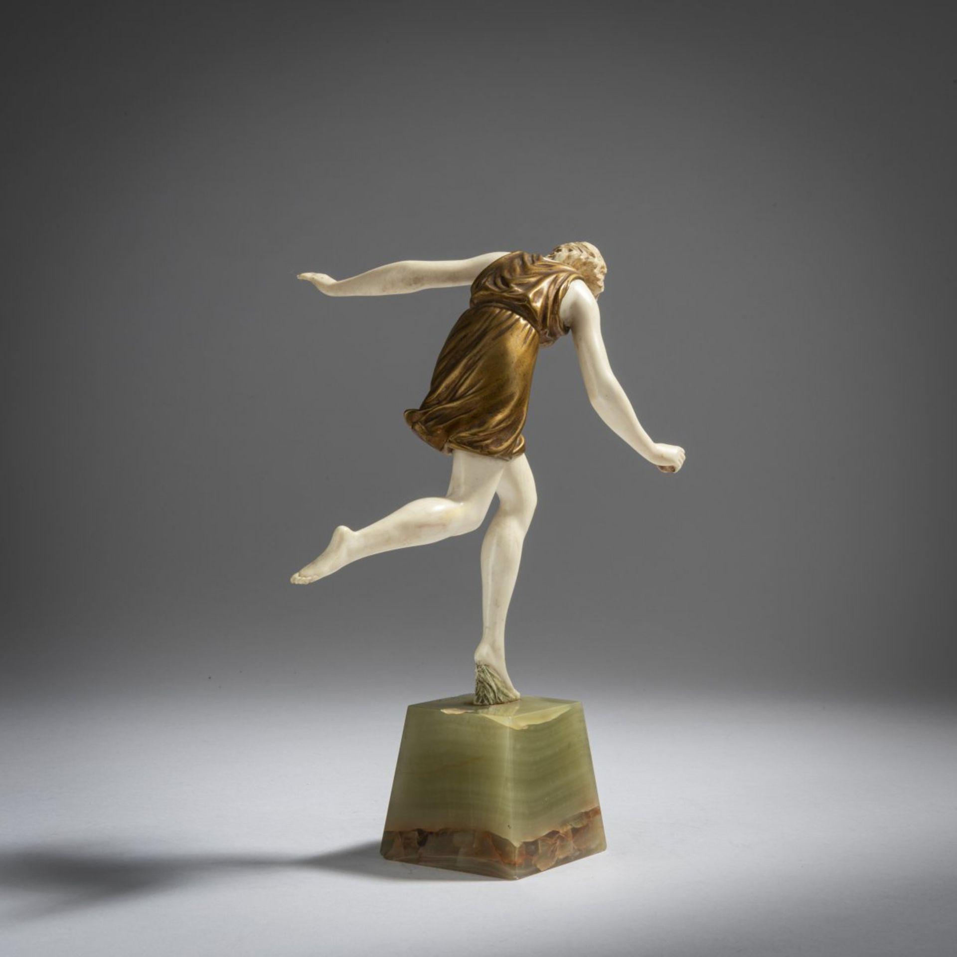 Pierre Le Faguays, Ballspielerin, 1920er Jahre - Bild 3 aus 6