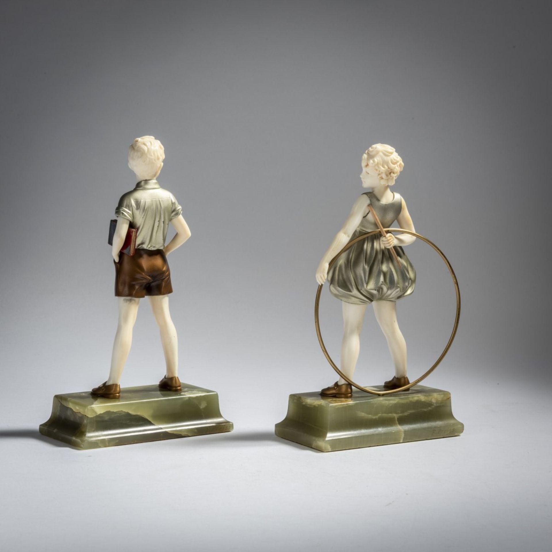 Ferdinand Preiss, 'Hoop Girl' und 'Sonny Boy', um 1930 - Bild 3 aus 5