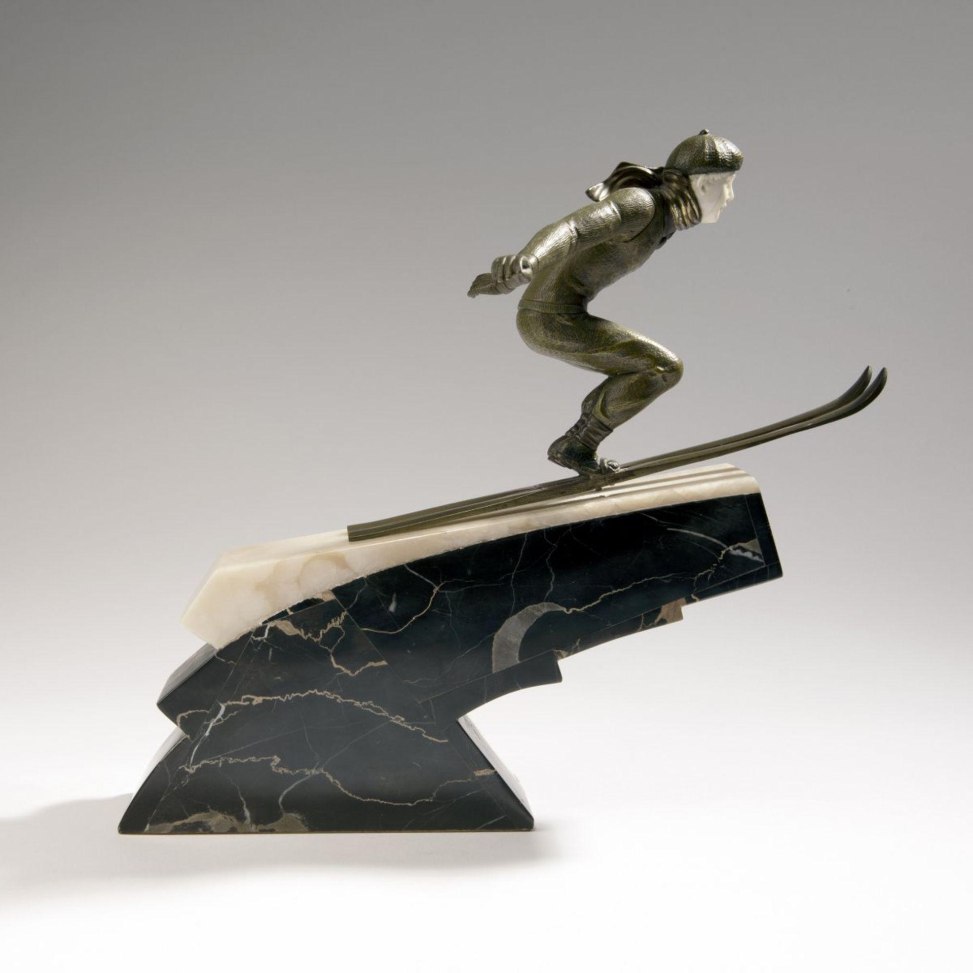 Jean Jacquemin, 'Skispringer', um 1925 - Bild 3 aus 7