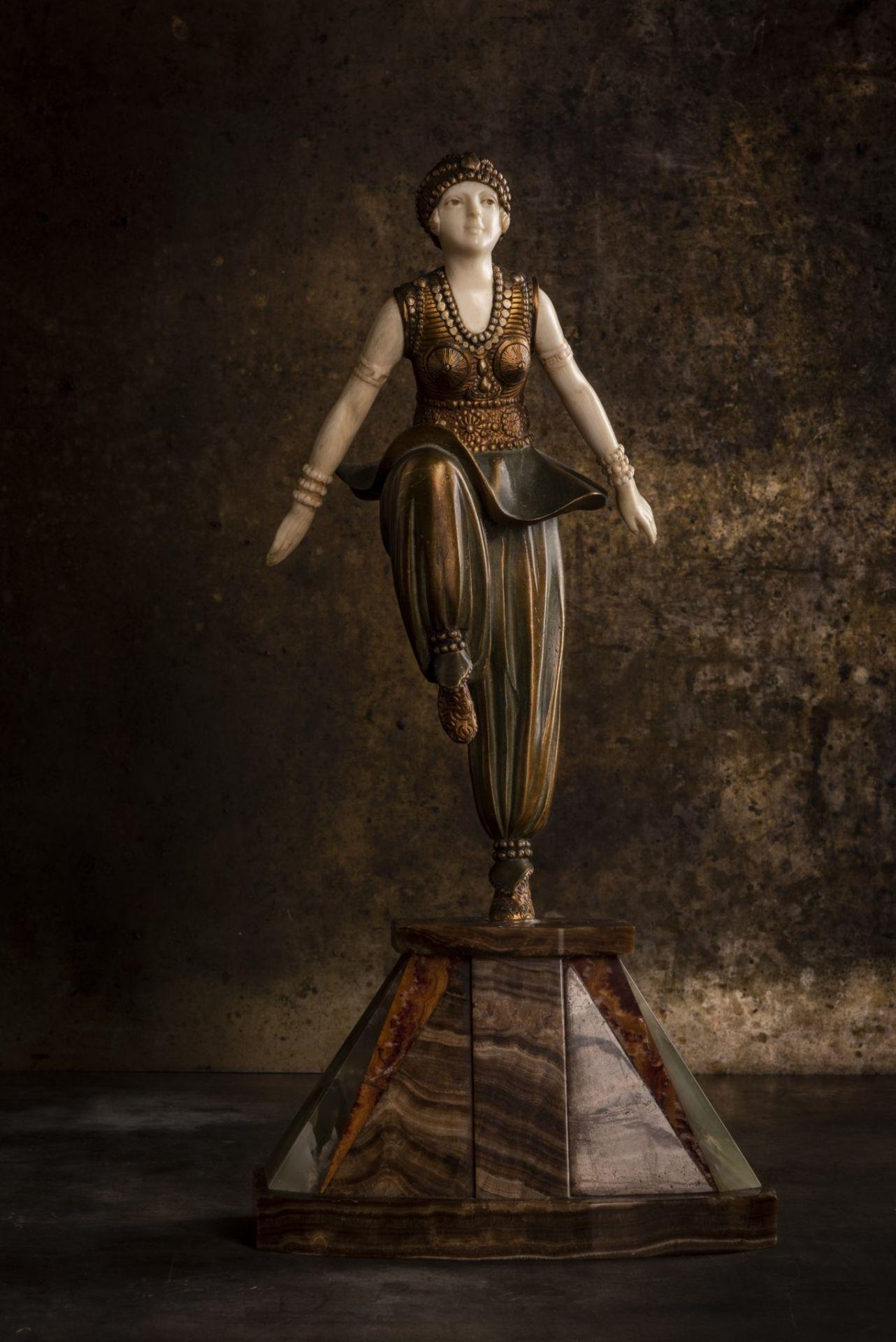 Demètre H. Chiparus, 'Orientalische Tänzerin', um 1925 - Bild 7 aus 9