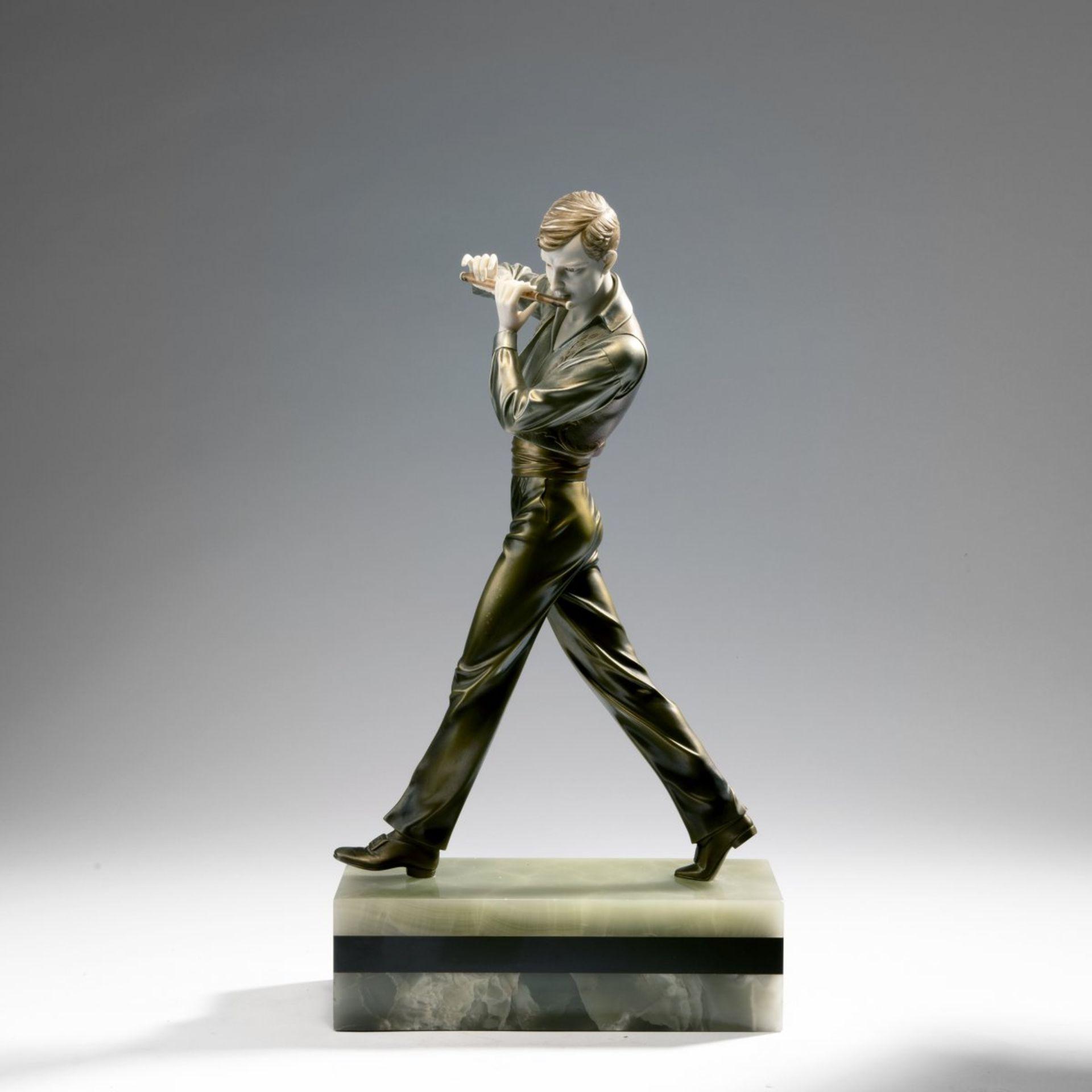 Ferdinand Preiss, 'Flötenspieler', um 1930 - Bild 8 aus 15