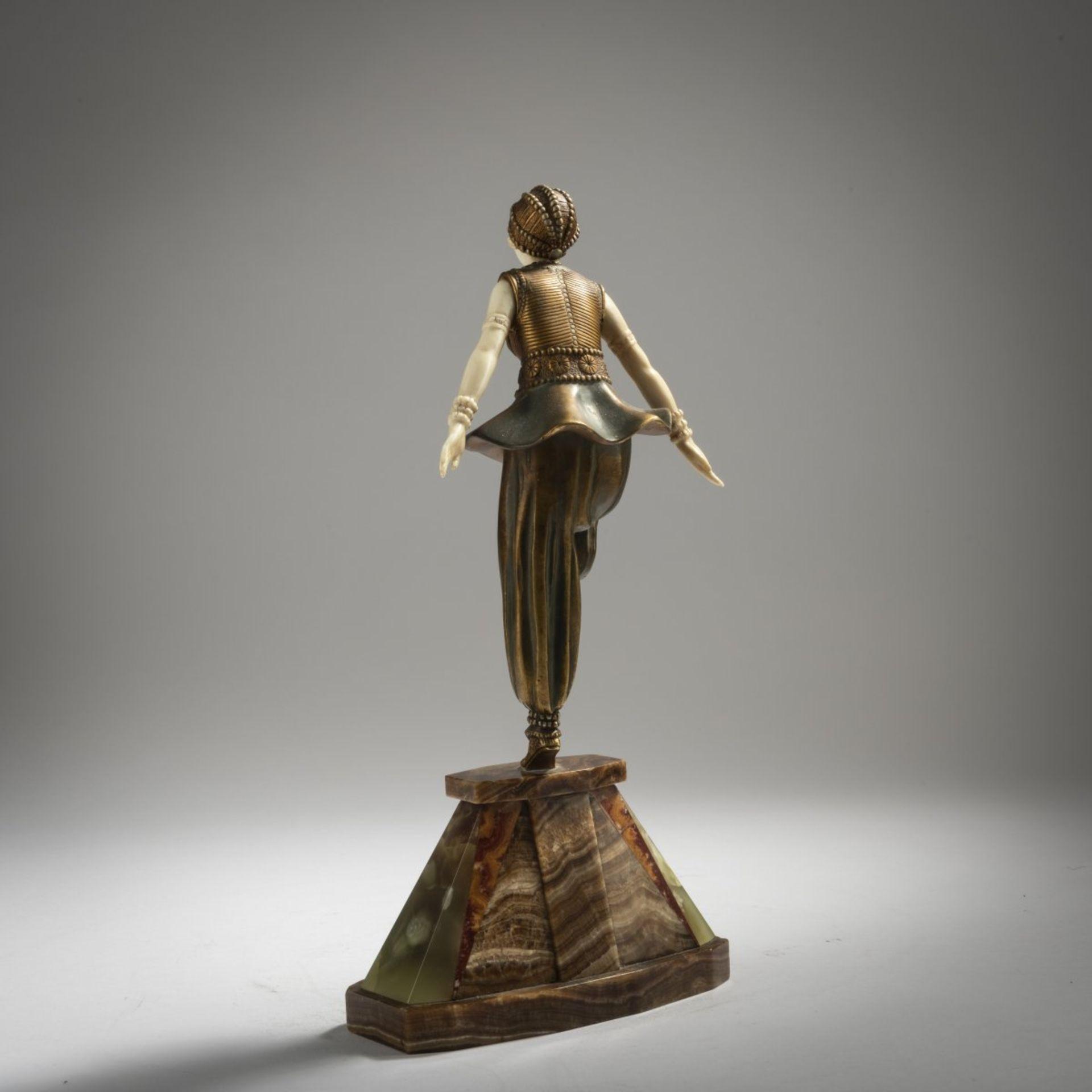 Demètre H. Chiparus, 'Orientalische Tänzerin', um 1925 - Bild 3 aus 9