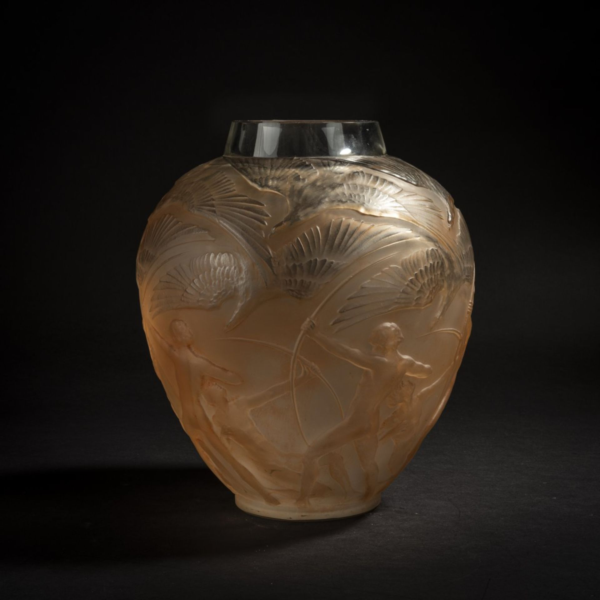 René Lalique, Vase 'Archers', 1921 - Bild 3 aus 6