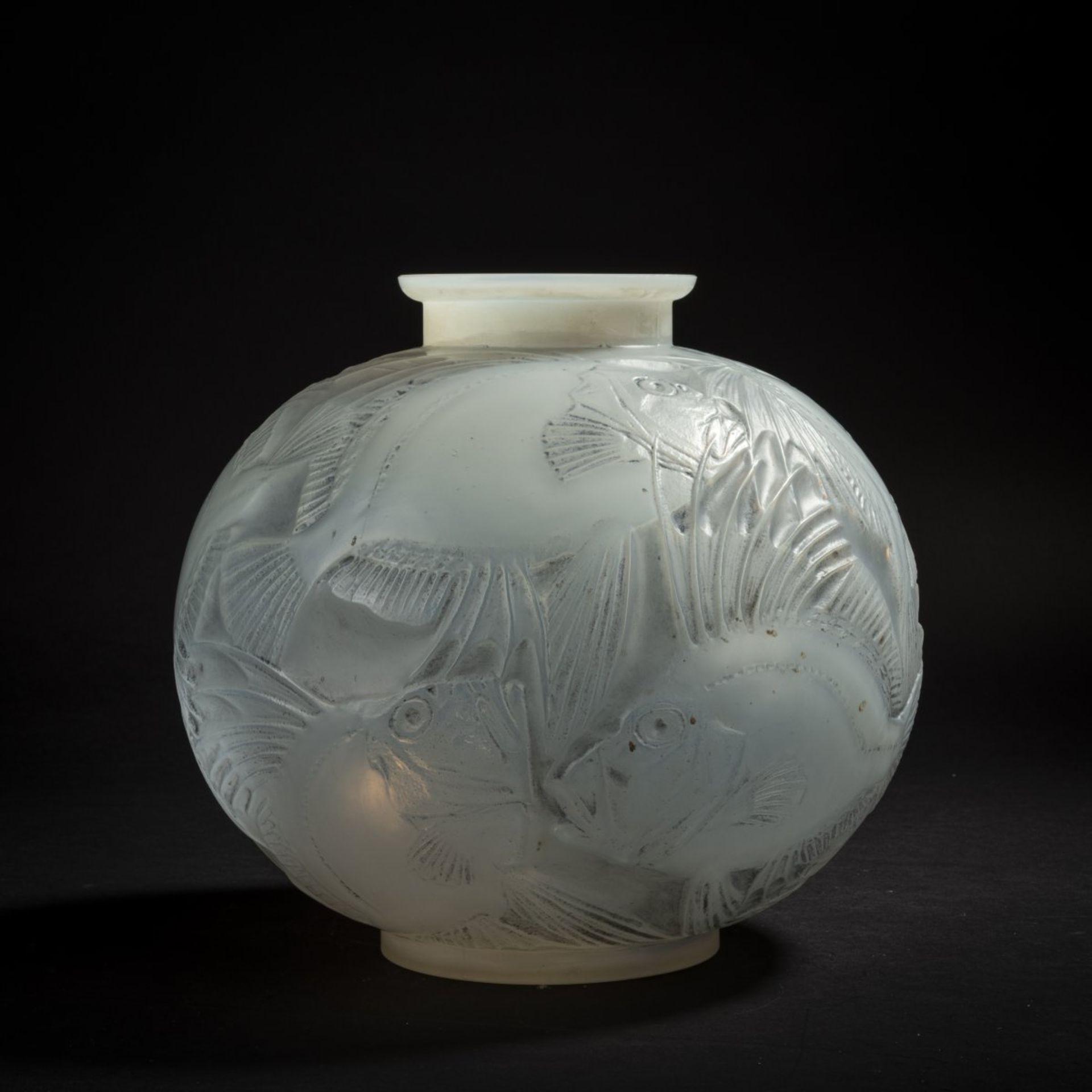 René Lalique, Vase 'Poissons', 1921 - Bild 2 aus 4