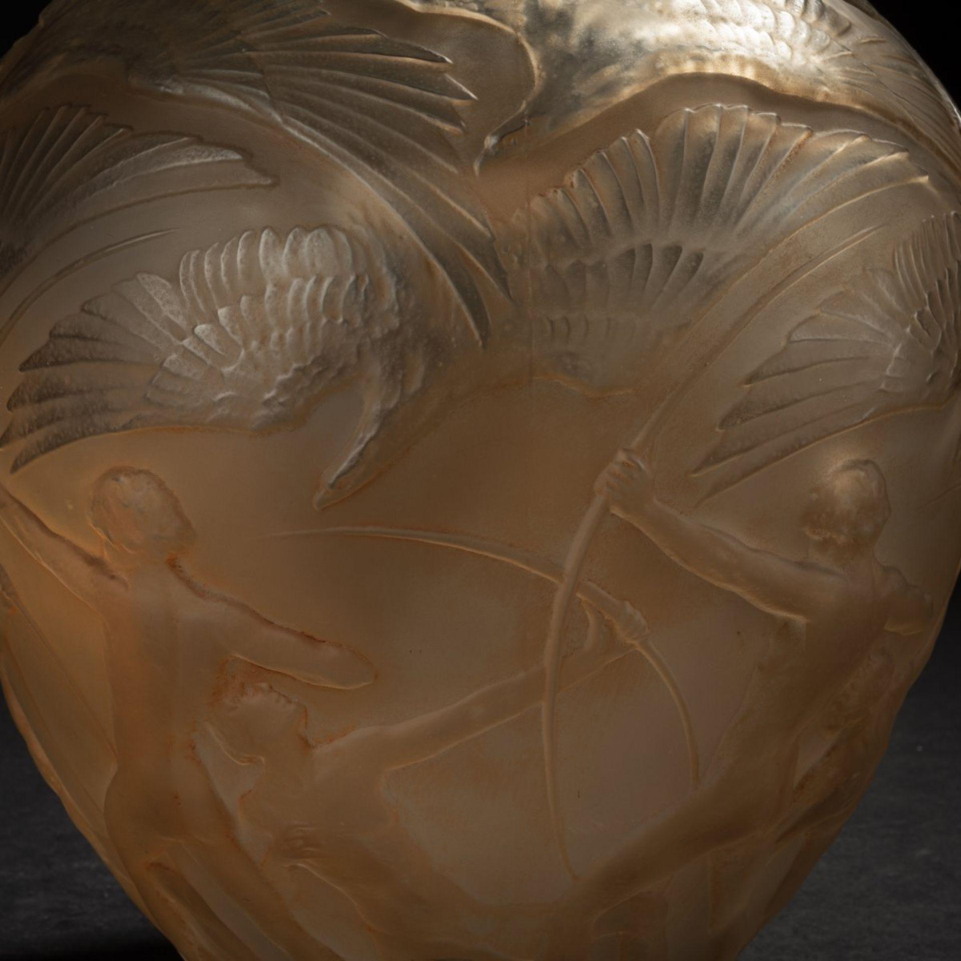 René Lalique, Vase 'Archers', 1921 - Bild 5 aus 6