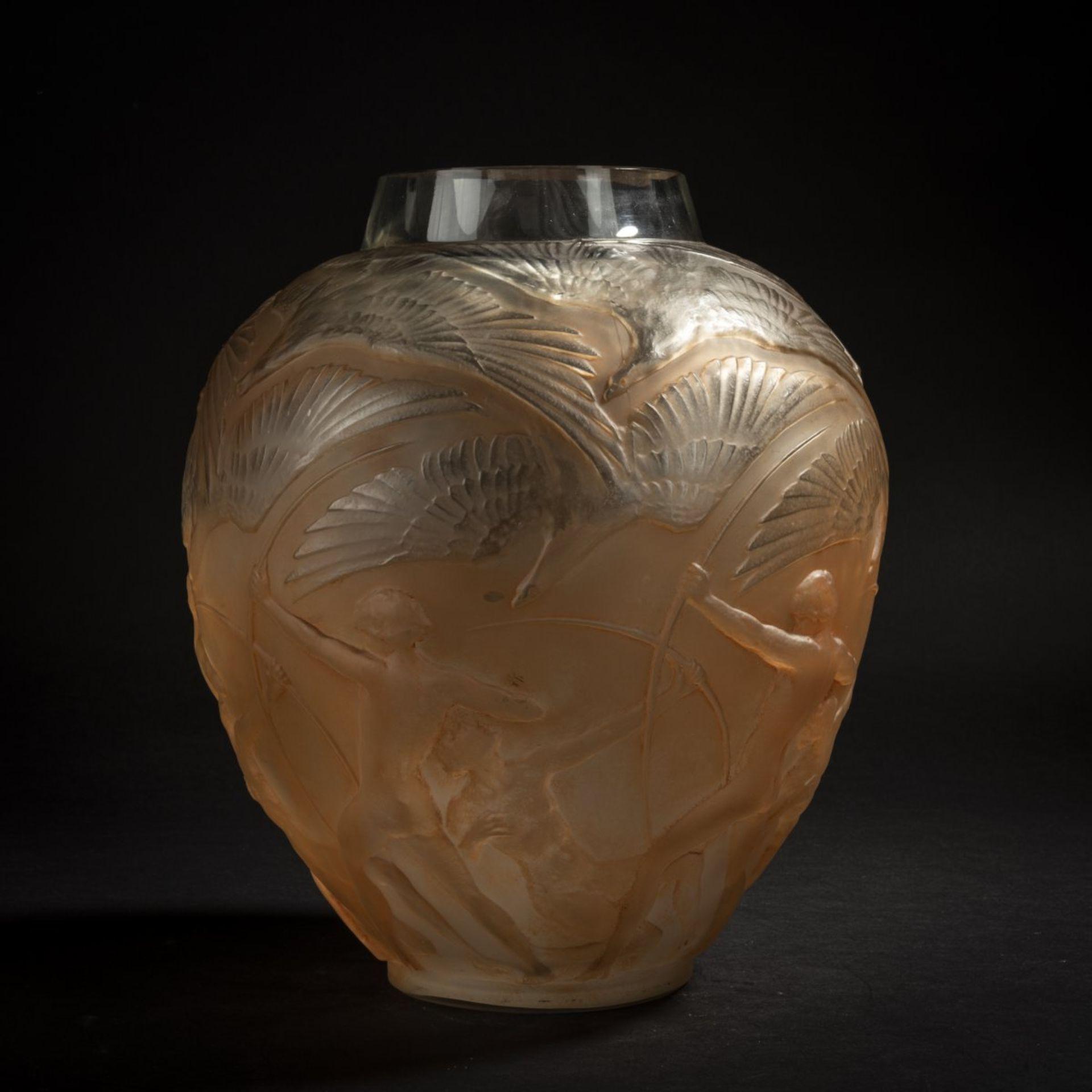 René Lalique, Vase 'Archers', 1921 - Bild 2 aus 6