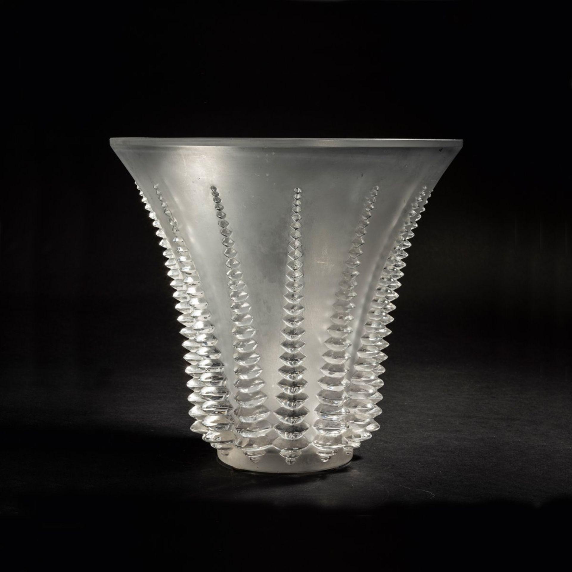 René Lalique, Vase 'Font-Romeu', 1936