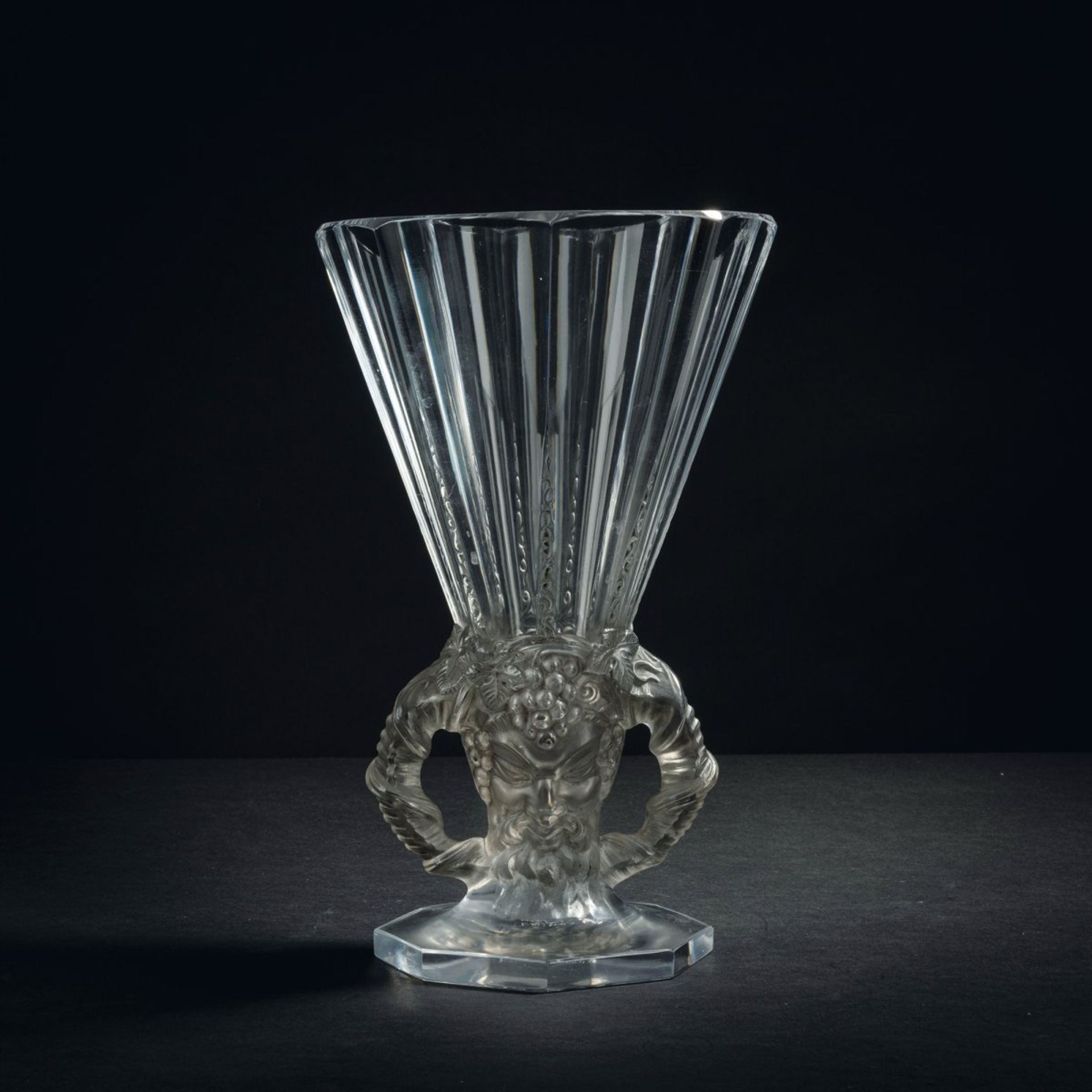 René Lalique, Vase 'Faune', 1931