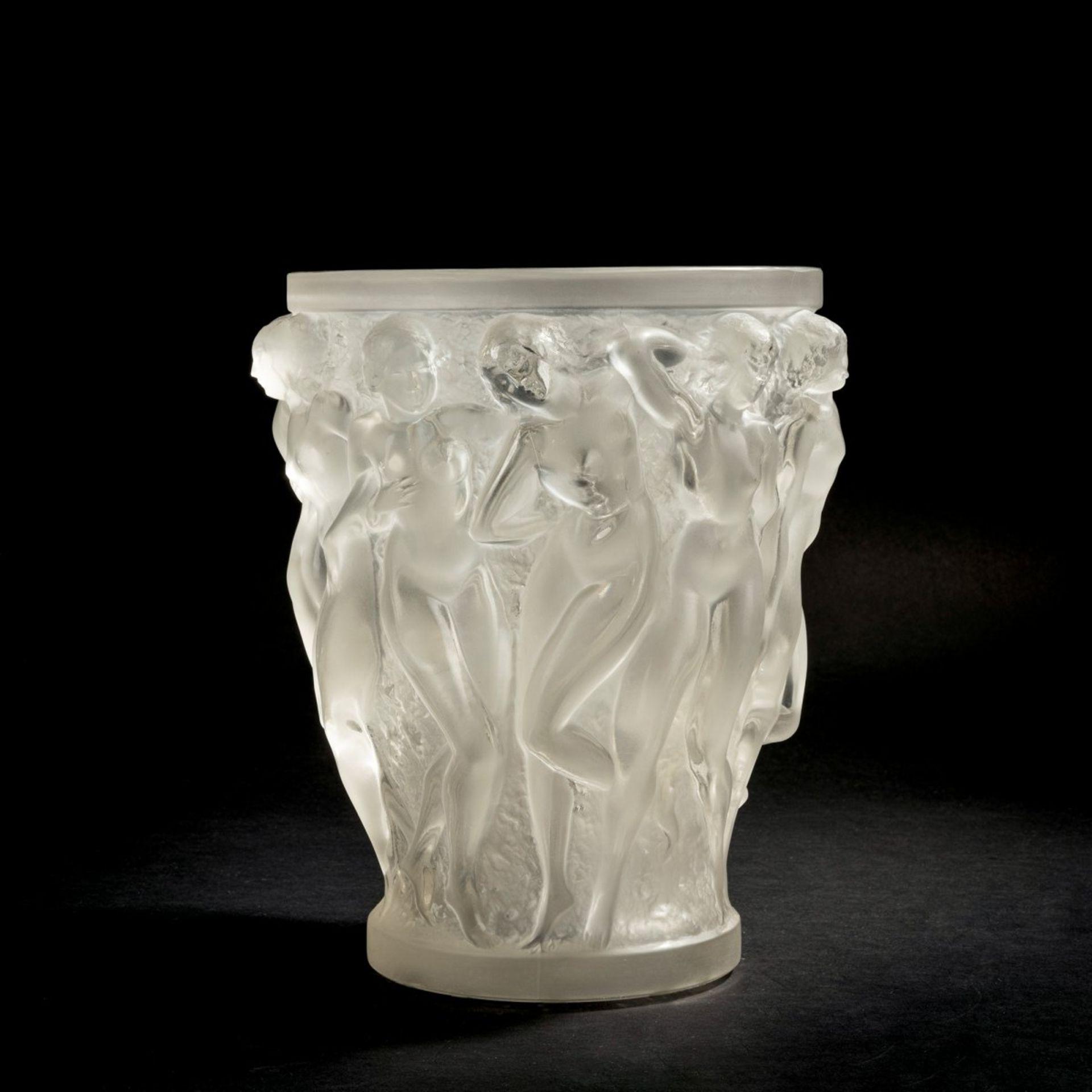 René Lalique, Vase 'Bacchantes', 1927