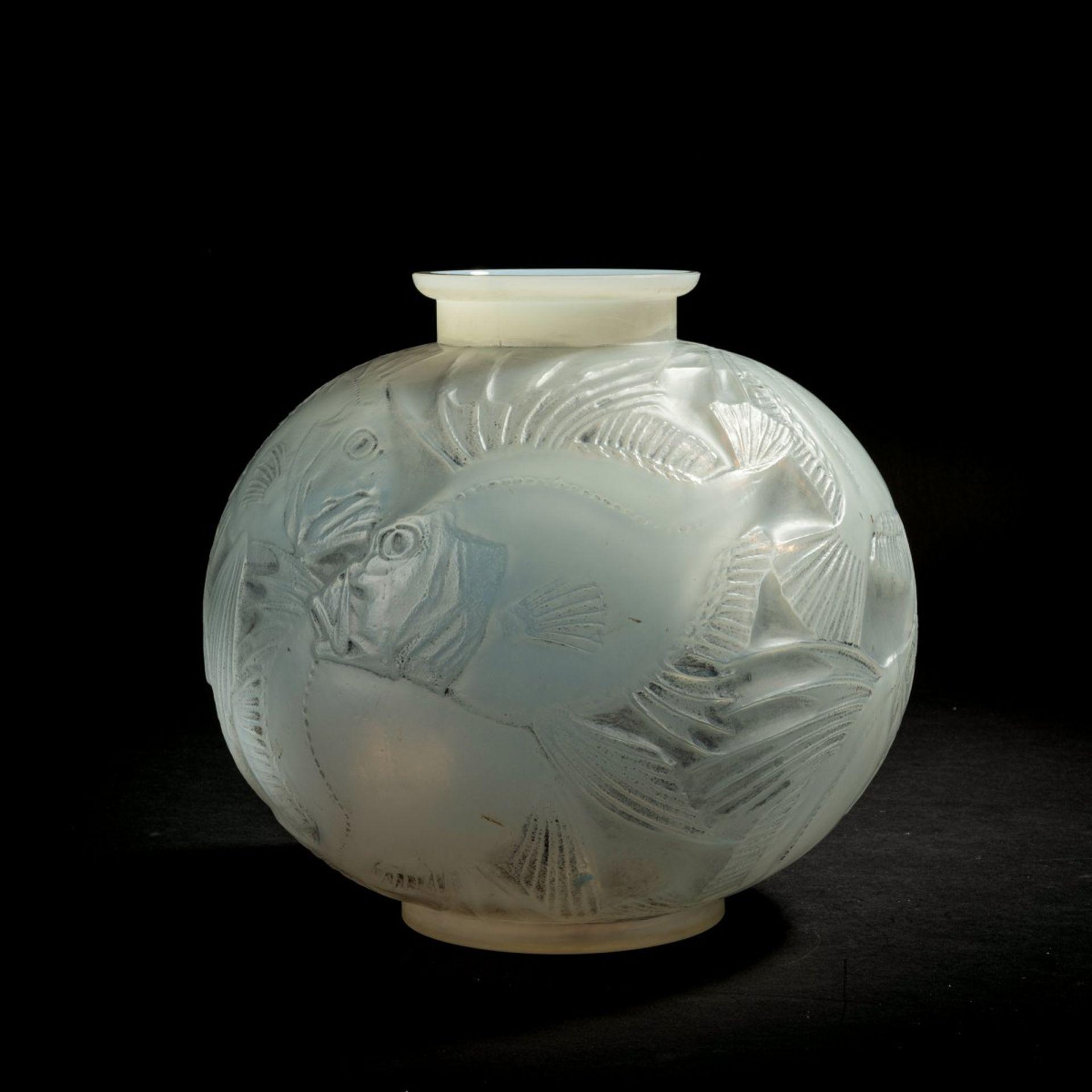 René Lalique, Vase 'Poissons', 1921