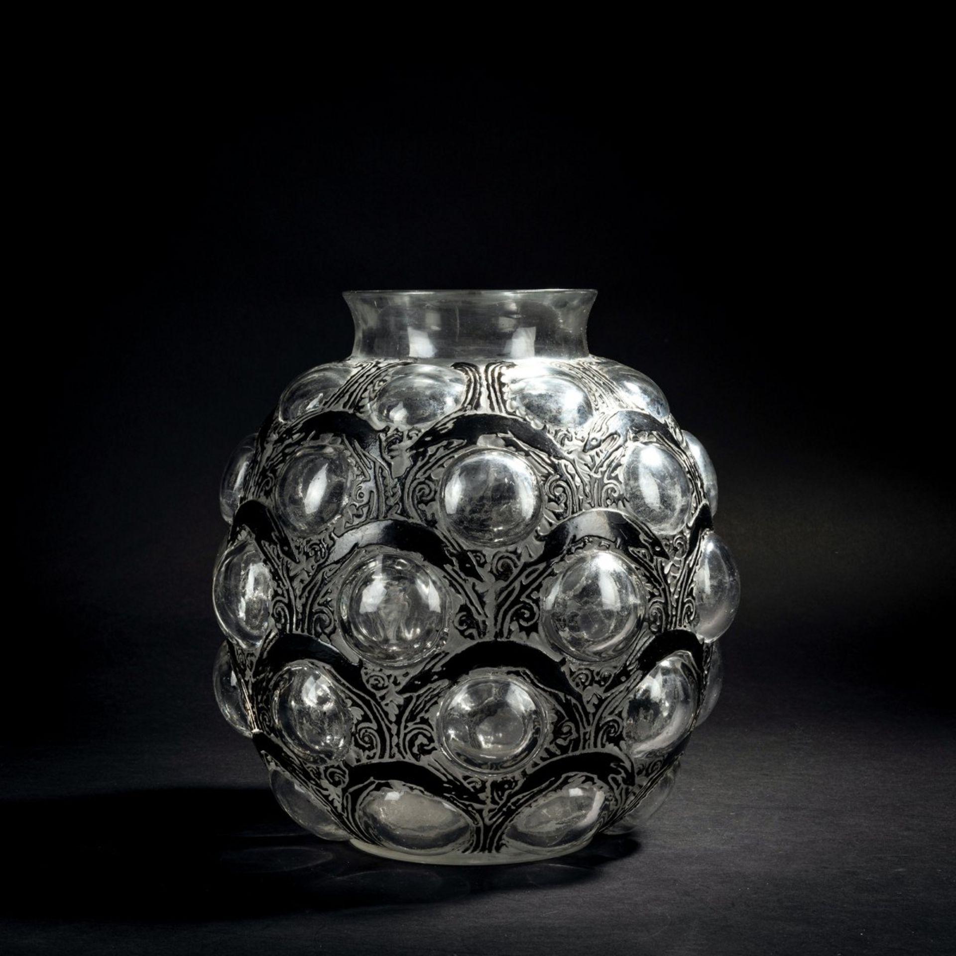 René Lalique, Vase 'Antilopes', 1925