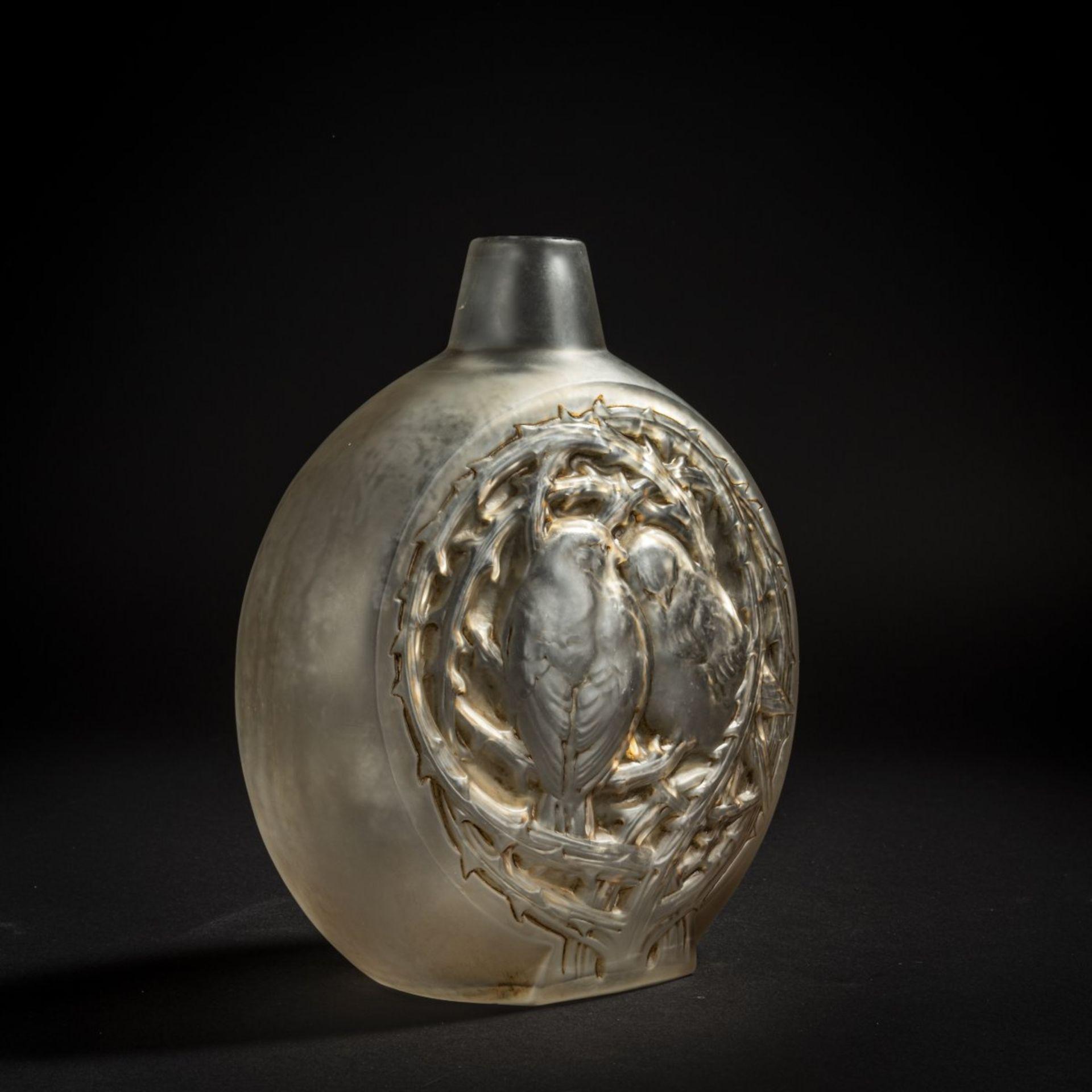 René Lalique, Vase 'Deux moineaux bavardant', 1920 - Bild 2 aus 5