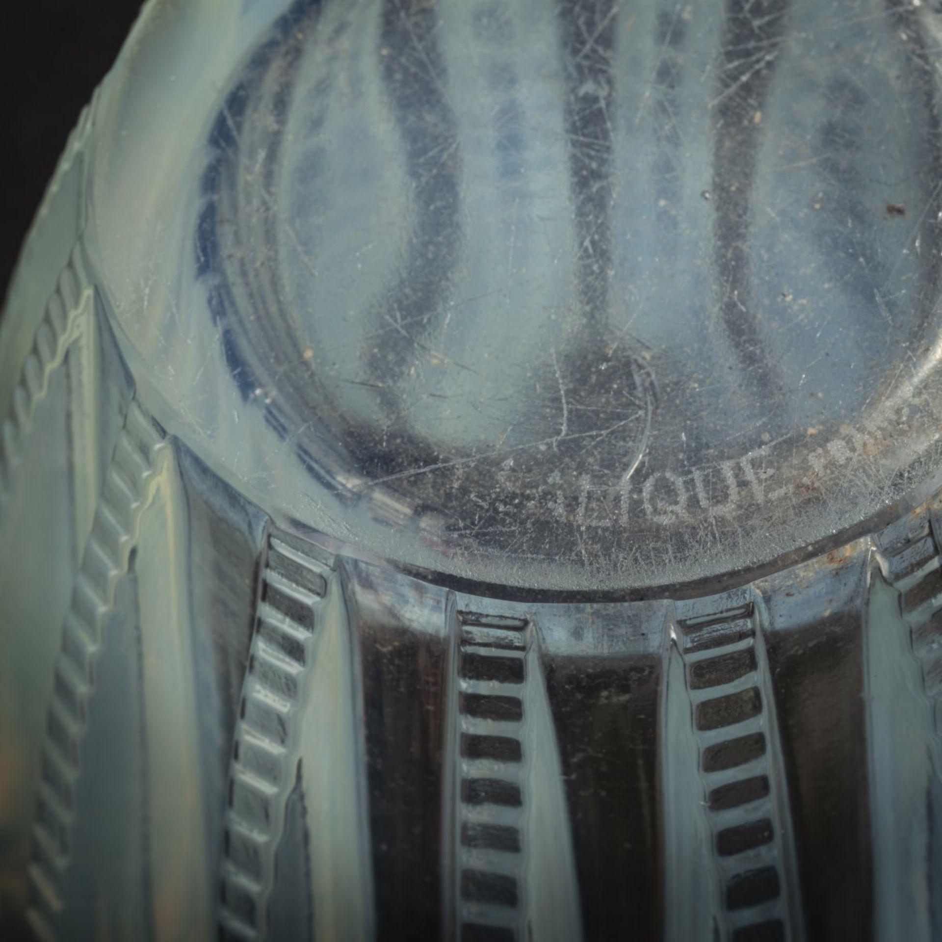 René Lalique, Vase 'Chamonix', 1933 - Bild 5 aus 5
