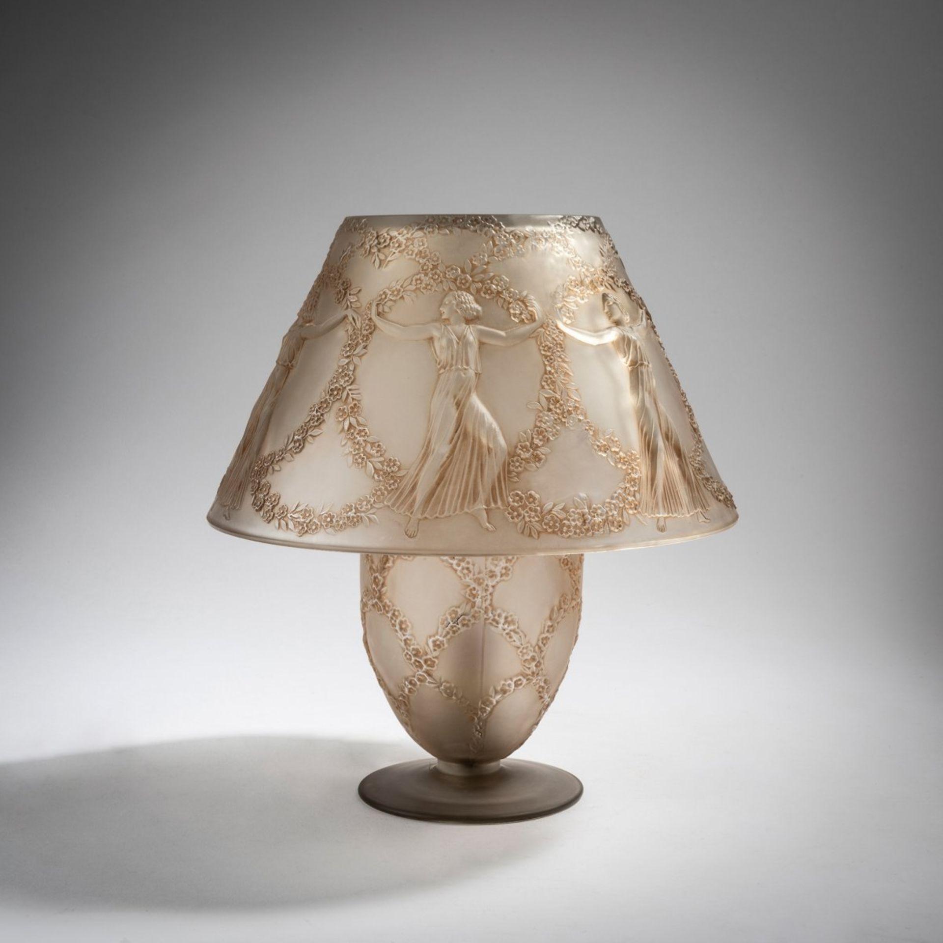 René Lalique, Tischleuchte 'Six Danseuses', 1931