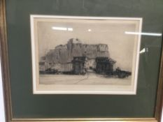 Alick G. Horsnell (d. 1916) four etchings