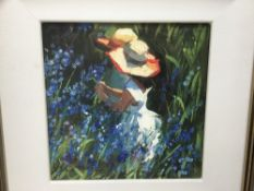 Sherree Valentine Daines (b. 1959), limited edition hand embellished print on canvas and book