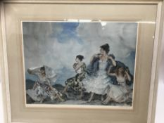 William Russell Flint signed limited edition print
