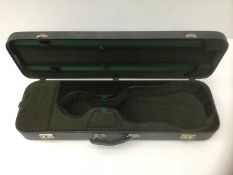 Good quality fitted violin case