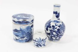 19th century Chinese blue and white porcelain