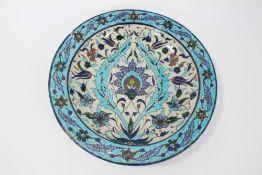 19th century Iznik dish