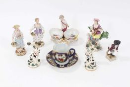 Small collection of 19th century porcelain